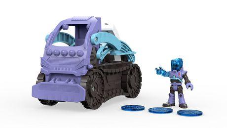 Fisher-Price Imaginext DC Super Friends Mr  Freeze Figure & Snowcat Vehicle