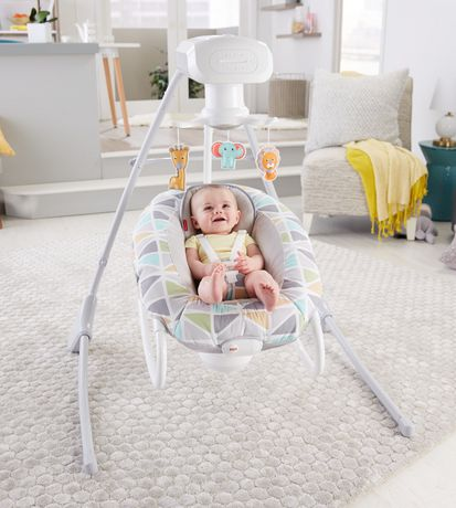 Fisher-Price 2-in-1 Deluxe Cradle 'N Swing - image 8 of 9