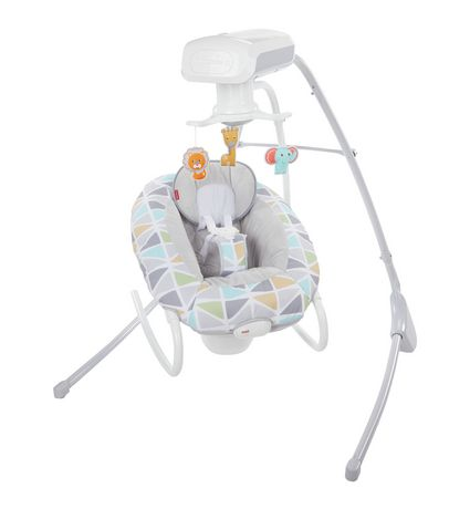 Fisher-Price 2-in-1 Deluxe Cradle 'N Swing - image 9 of 9