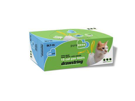 Sac à litière géant pour chats avec cordon Van Ness format économique (DL7-15) - image 1 de 3