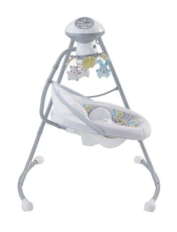 Fisher-Price Sweet Snugapuppy Dreams Cradle 'n Swing - image 4 of 9