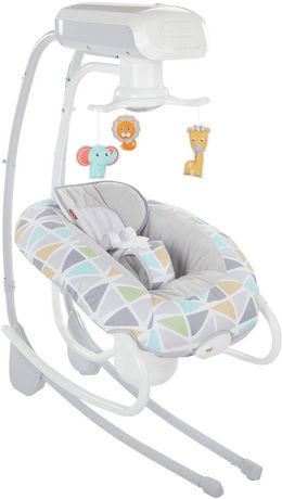 Fisher-Price 2-in-1 Deluxe Cradle 'N Swing - image 5 of 9