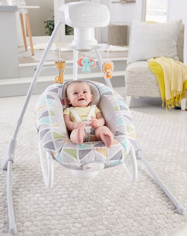 Fisher-Price 2-in-1 Deluxe Cradle 'N Swing - image 2 of 9
