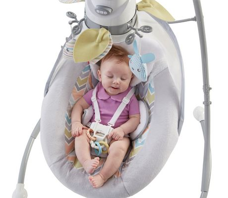 Fisher-Price Sweet Snugapuppy Dreams Cradle 'n Swing - image 2 of 9