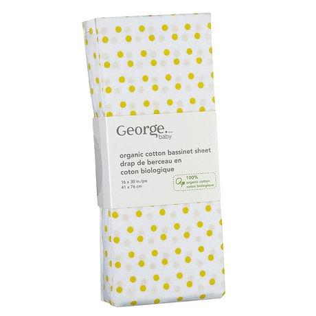 george baby organic cotton flannel crib sheet walmart canada