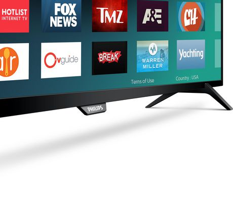 "Philips, 65"" 4K UHD HDR SMART TV, 65PFL5602/F7 - image 2 of 6"