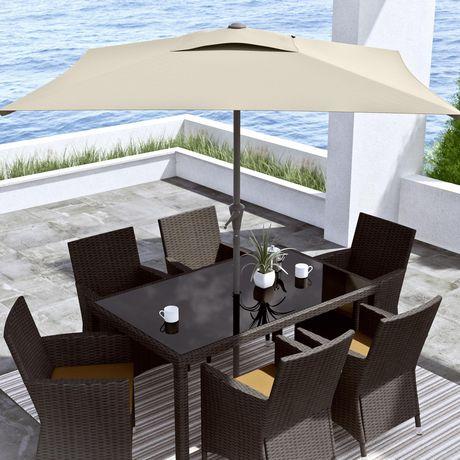 CorLiving 9 Ft Square Patio Umbrella - image 1 of 7