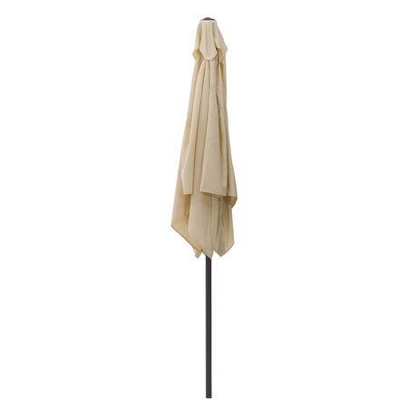 CorLiving 9 Ft Square Patio Umbrella - image 4 of 7