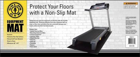 Gold Gym Treadmill Mat
