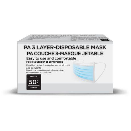 3 Laye-Disposable Mask - image 1 of 3