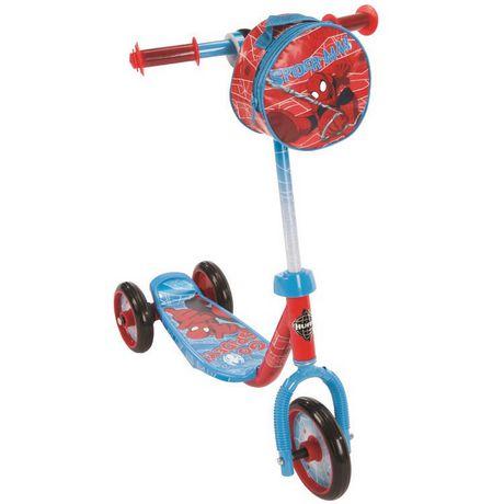 trottinette pr scolaire 3 roues spider man de marvel. Black Bedroom Furniture Sets. Home Design Ideas