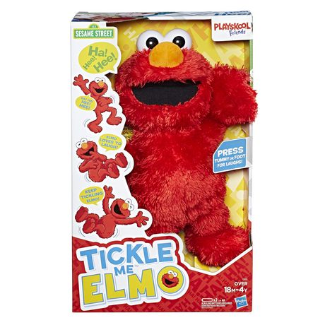 Playskool Friends Sesame Street Tickle Me Elmo Aa