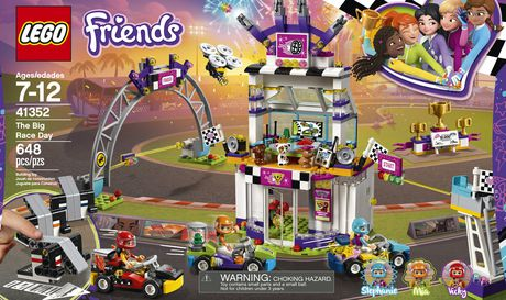 LEGO Friends The Big Race Day 41352 Building Kit (648 Piece) - image 5 of 6