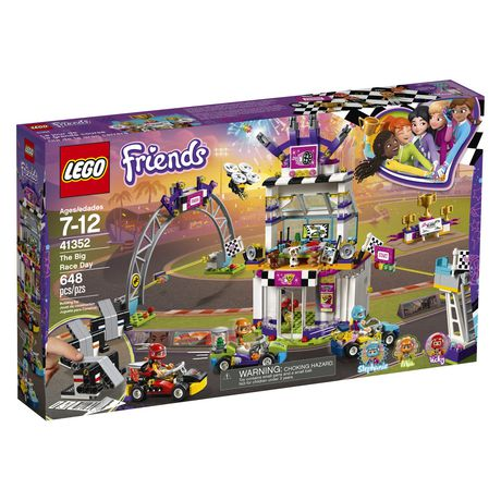 LEGO Friends The Big Race Day 41352 Building Kit (648 Piece) - image 2 of 6