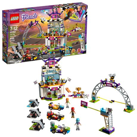LEGO Friends The Big Race Day 41352 Building Kit (648 Piece) - image 1 of 6