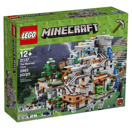 LEGO Minecraft - The Mountain Cave (21137) | Walmart Canada