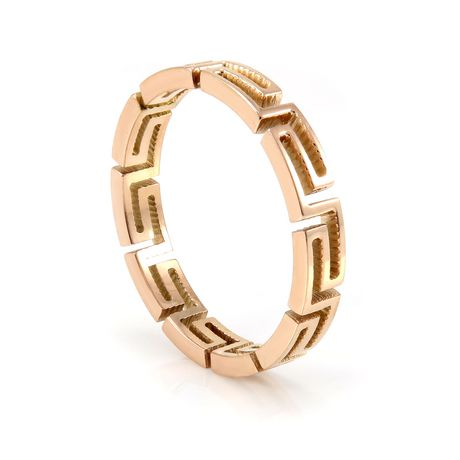 Pure316 Women's Rose Gold Plated Fancy Layered Ring - image 2 of 3