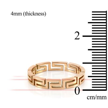 Pure316 Women's Rose Gold Plated Fancy Layered Ring - image 3 of 3