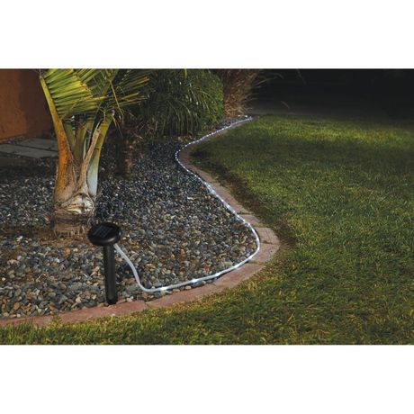 Sharper image solar powered led outdoor rope light walmart canada sharper image solar powered led outdoor rope light aloadofball Image collections