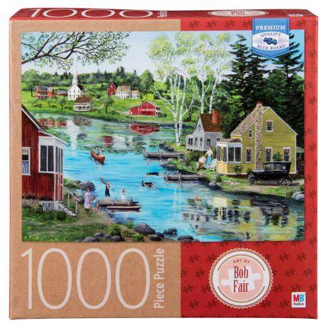 Artist Bob Fair - 1000-Piece Adult Jigsaw Puzzle - Glass Lake - image 1 de 1