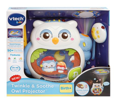 Vtech 174 Twinkle Amp Soothe Owl Projector English Version Walmart Canada