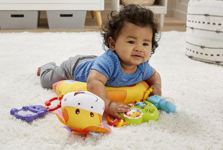 Vtech 174 Tummy Time Discovery Pillow English Version