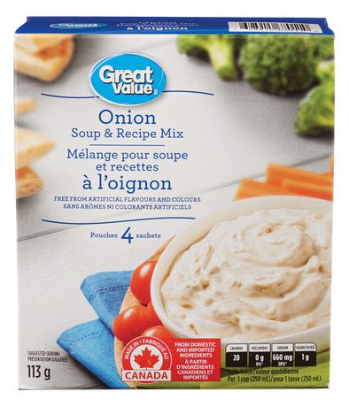Great Value Onion Soup and Recipe Mix - image 1 of 2