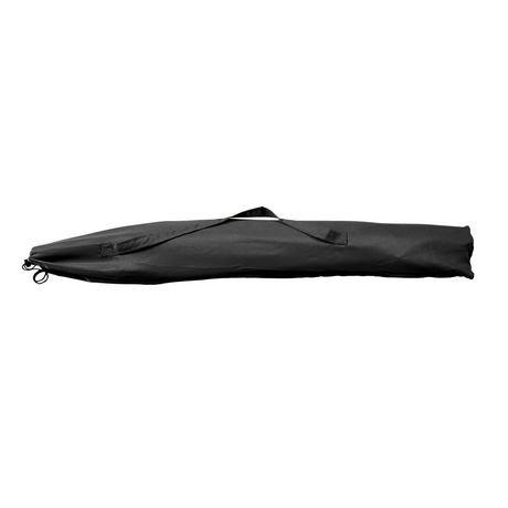 parasol de patio plage corliving de 7 5 pi en noir. Black Bedroom Furniture Sets. Home Design Ideas