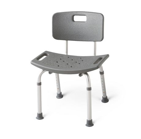 Medline Aluminum Back Bath Bench - image 1 of 1