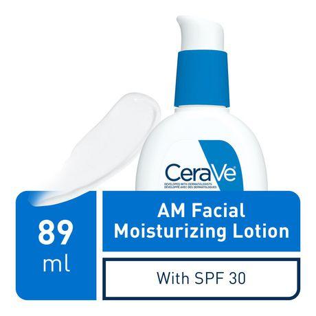 CeraVe Lotion Hydratante Quotidienne pour le Visage FPS 30 avec Acide Hyaluronique et Niacinamide | Hydratant Quotidien Sans Parfum pour le Visage - image 3 de 6