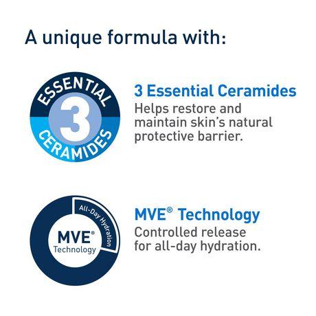 CeraVe Lotion Hydratante Quotidienne pour le Visage FPS 30 avec Acide Hyaluronique et Niacinamide | Hydratant Quotidien Sans Parfum pour le Visage - image 4 de 6