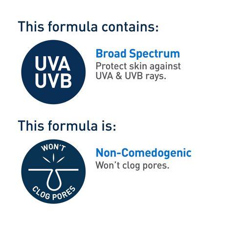 CeraVe Lotion Hydratante Quotidienne pour le Visage FPS 30 avec Acide Hyaluronique et Niacinamide | Hydratant Quotidien Sans Parfum pour le Visage - image 5 de 6