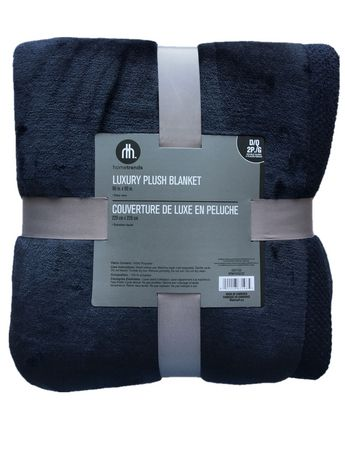 hometrends luxury plush blanket walmart canada