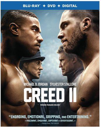 Creed 2 (Blu-ray + DVD + Digital Combo Pack)  Bilingual - image 1 of 1