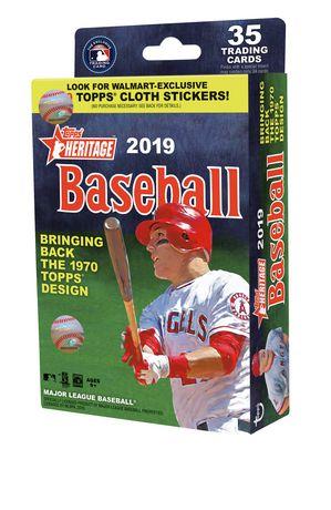 2019 TOPPS HERITAGE MLB BASEBALL WM HANGER BOX - image 1 de 1