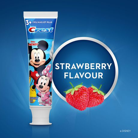 Crest Kid's Cavity Protection Toothpaste featuring Disney Junior's Mickey Mouse, Strawberry, Ages 3+ - image 5 of 6