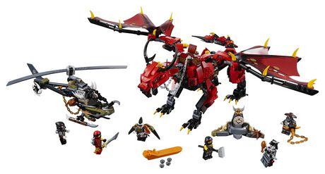 LEGO NINJAGO Masters of Spinjitzu: Firstbourne 70653 Building Kit (882 Piece) - image 3 of 6