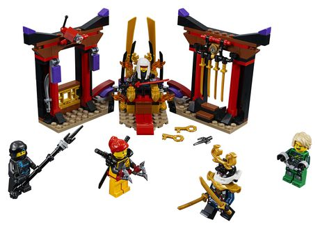 LEGO NINJAGO Masters of Spinjitzu: Throne Room Showdown 70651 Building Kit (221 Piece) - image 3 of 6
