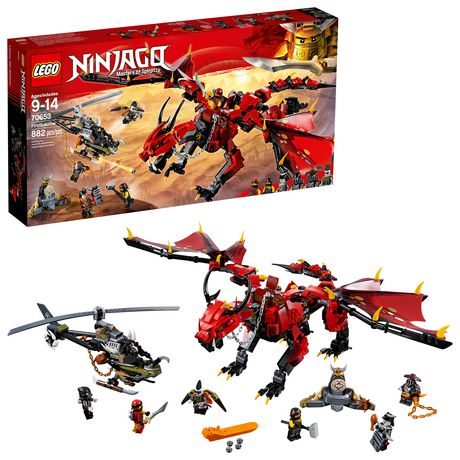 LEGO NINJAGO Masters of Spinjitzu: Firstbourne 70653 Building Kit (882 Piece) - image 1 of 6