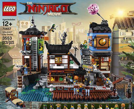 The Lego Ninjago Movie Ninjago City Docks 70657 Building Kit 3553 Piece