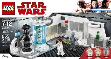 LEGO Star Wars Hoth Medical Chamber 75203 Toy Building Kit (255 Pieces) - image 5 of 6