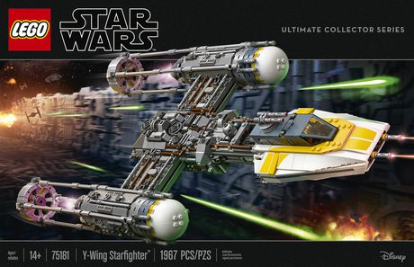 LEGO Star Wars TM - Y-Wing Starfighter™ (75181) - image 5 of 6