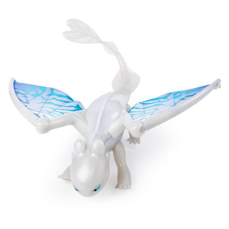 DreamWorks Dragons, Lightfury Deluxe Dragon with Lights and Sounds, for Kids Aged 4 and Up - image 2 of 6