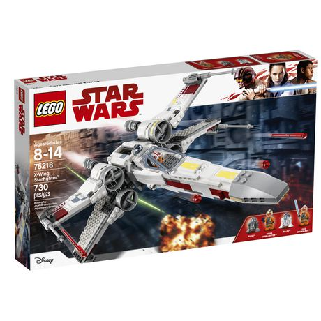 LEGO Star Wars X-Wing Starfighter 75218 Star Wars Building Kit (731 Piece) - image 2 of 6