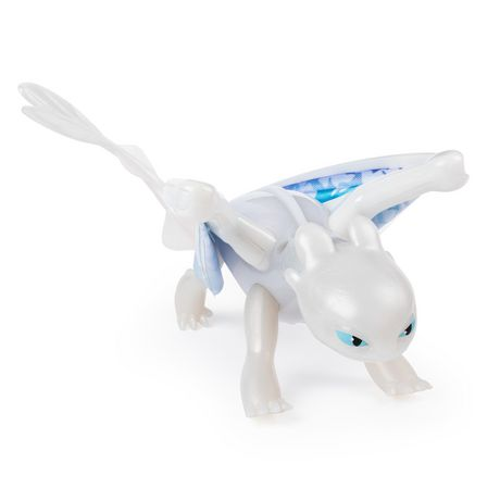 DreamWorks Dragons, Lightfury Deluxe Dragon with Lights and Sounds, for Kids Aged 4 and Up - image 4 of 6
