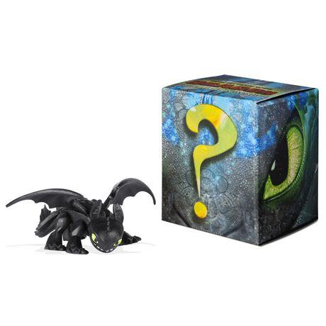 DreamWorks Dragons, coffret de 2 Mystery Dragons Krokmou, figurines dragons à collectionner, pour les enfants à partir de 4 ans - image 2 de 3
