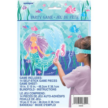 Unique Party Favors Mermaid Party Game - image 1 of 1