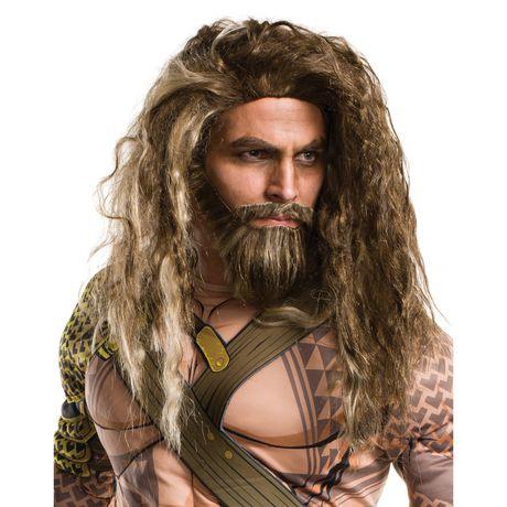 Barbe Et Perruque D'Aquaman Pour Hommes - image 1 de 1