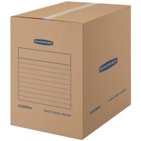 Fellowes® Bankers Box® SmoothMove™ Basic Moving Boxes - Large, 7 pack - image 2 of 4