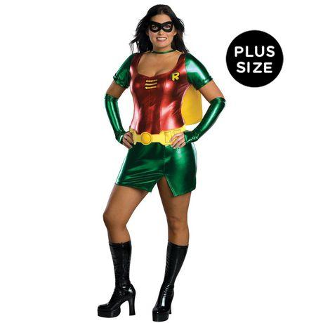 Costume Robin Plus Pour Adulte - image 1 de 1